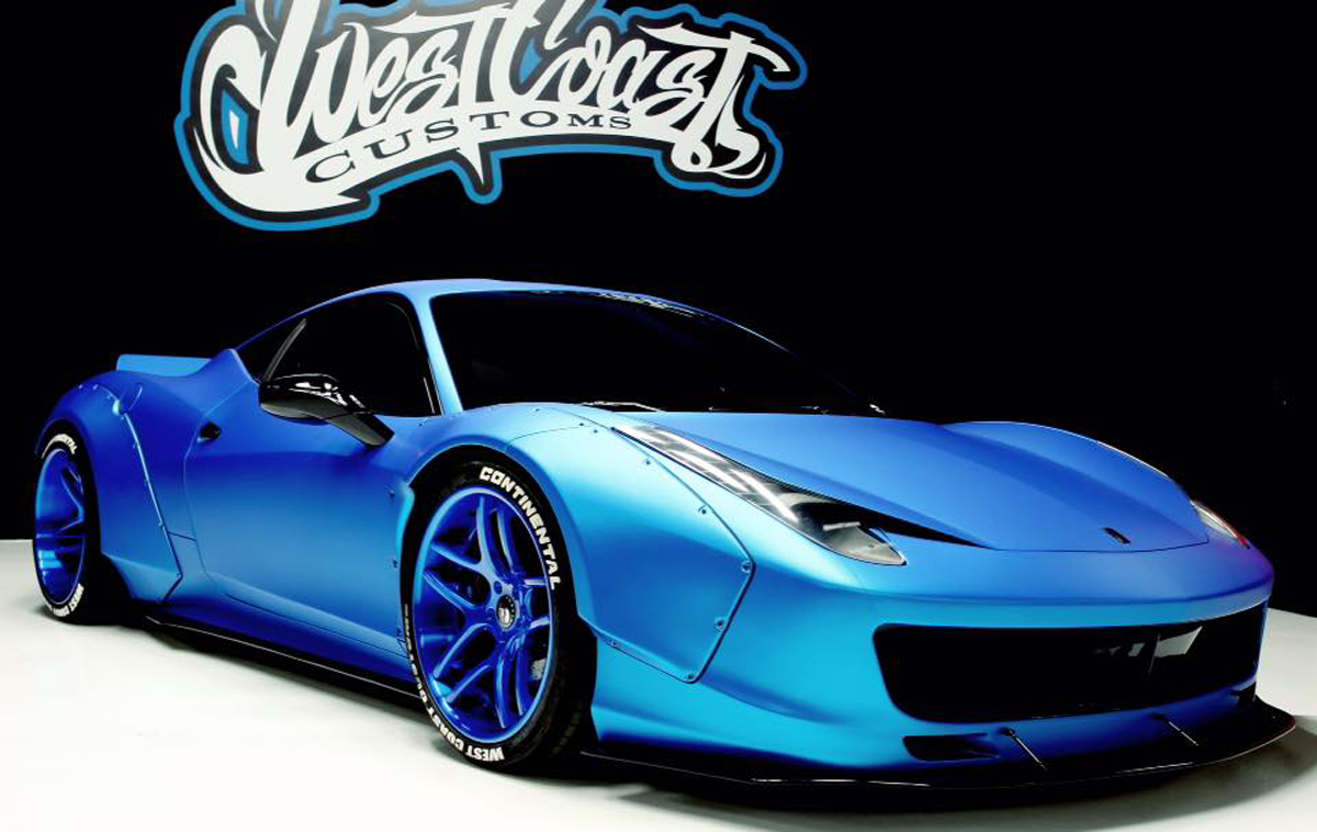 West Coast Customs Cars For Sale >> Justin Bieber's Ferrari 458 Italia Gets Liberty Walk Transformation - GTspirit