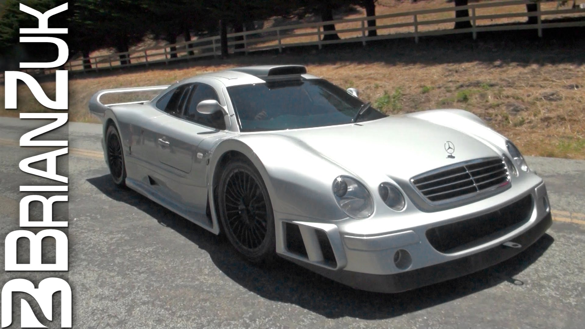 Video Mercedes Benz Clk Gtr On The Streets Of Monterey Gtspirit