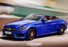 Mercedes-Benz C-Class Cabriolet rendered