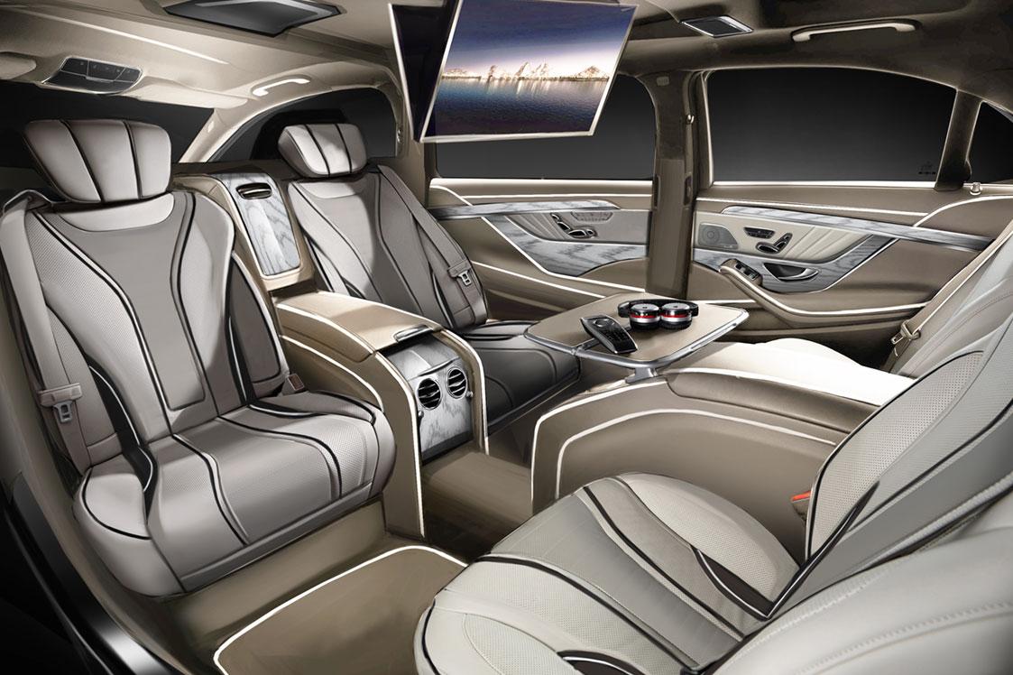 Ares Design Unveils Custom Mercedes-Benz S-Class