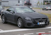 Facelift Mercedes-Benz SL63 AMG Spy Shot