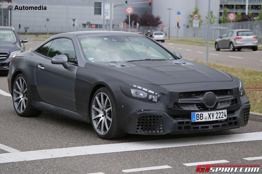 Facelift Mercedes-Benz SL63 AMG Spy Shot