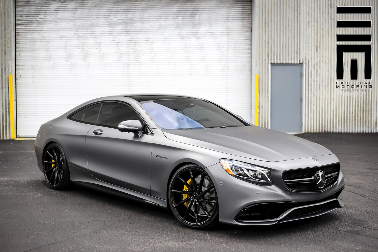 Mercedes Benz S63 Amg Coupe Car