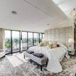 Luxury apartment bedroom suite