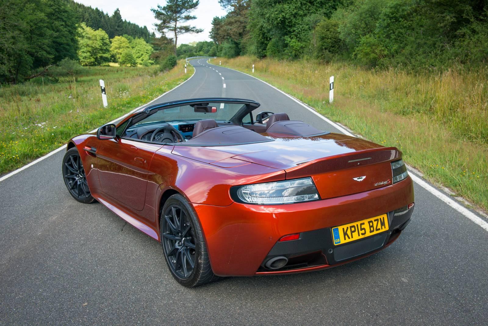 Aston Martin V Vantage S Roadster Review GTspirit - Aston martin vantage v12
