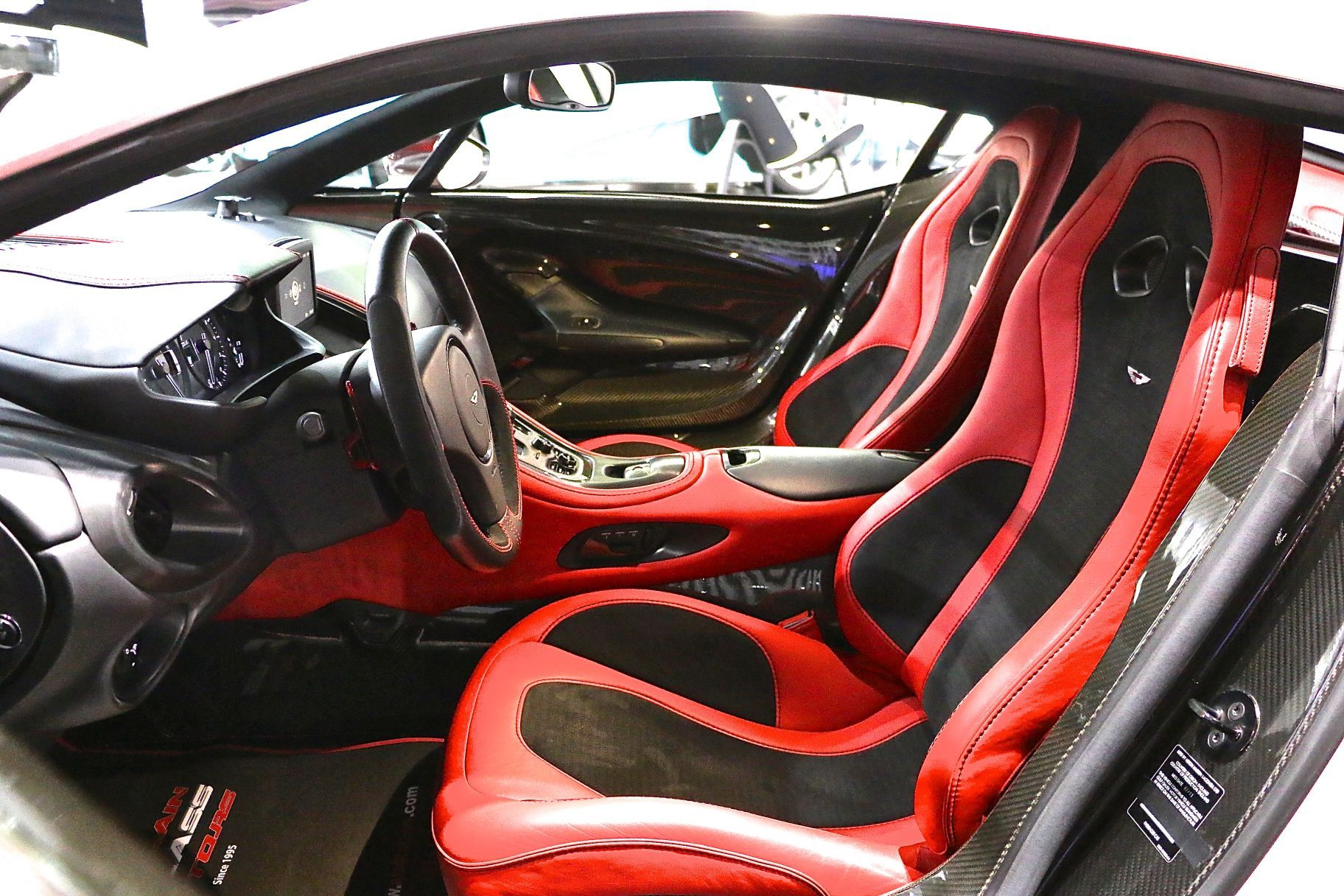 Lovely Aston Martin One 77 For Sale In Dubai Interior