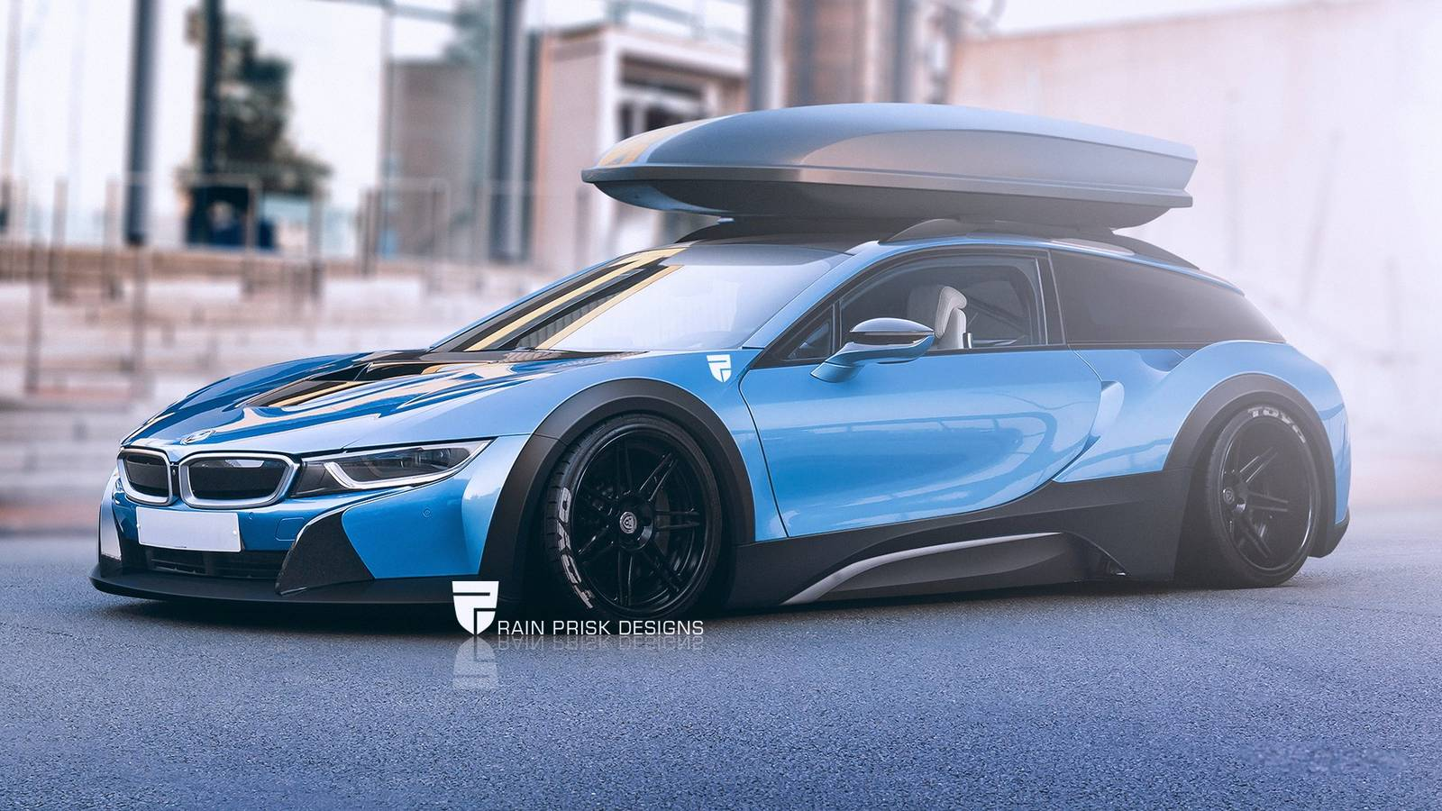 1. BMW I8 Station Wagon