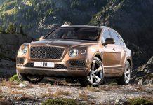 Bentley Bentayga revealed front