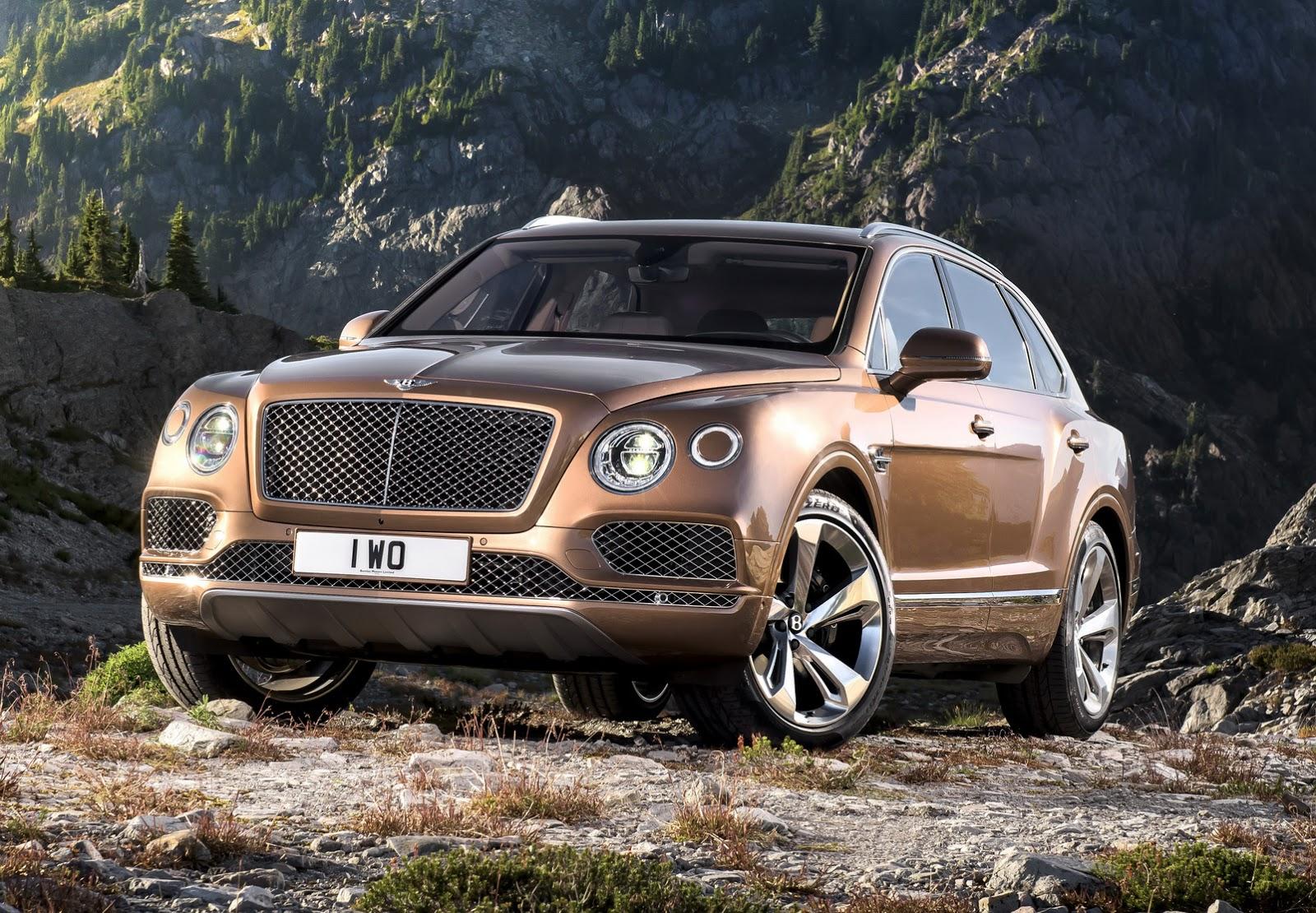 Official: 2016 Bentley Bentayga - GTspirit