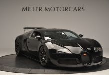 Black Bugatti Veyron for sale in the U.S.