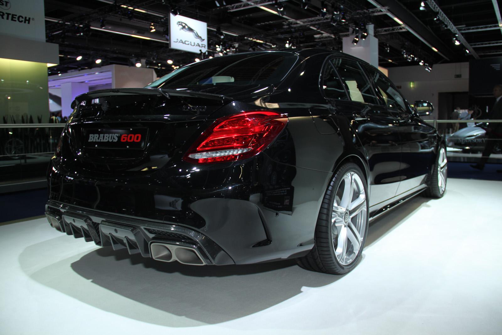 Frankfurt 2015 Brabus MercedesAMG C63 S  GTspirit