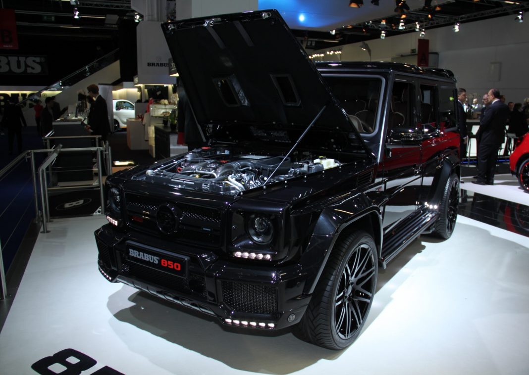 frankfurt 2015 brabus g63 amg 850 6 0 widestar gtspirit. Black Bedroom Furniture Sets. Home Design Ideas