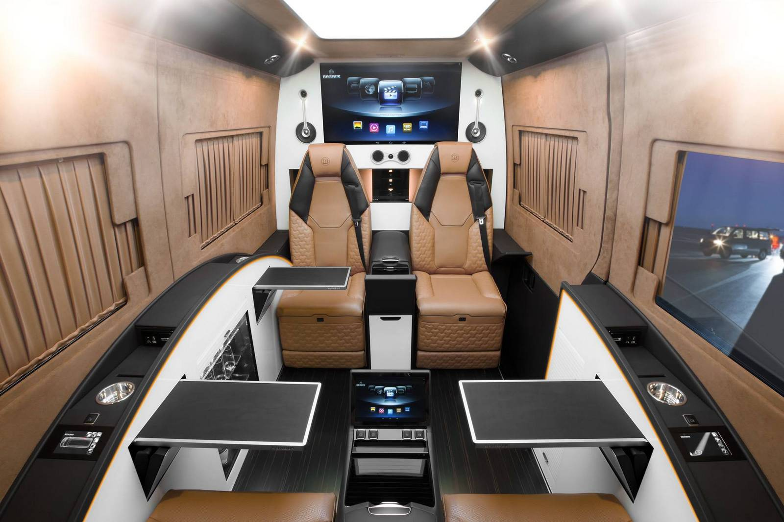 How To Cancel Uber >> Brabus Reveals Ultra-Luxurious Mercedes-Benz Sprinter ...