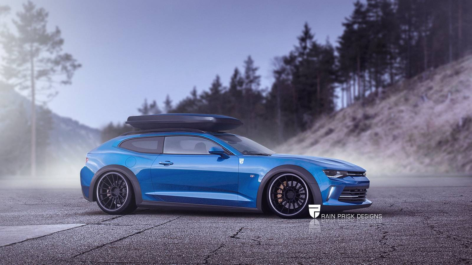 2019 Wrx Wagon >> 7 Crazy Station Wagon Renders Based on Sports Cars - GTspirit