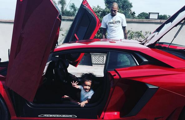 Chris Brown Buys Lamborghini Aventador Sv Gtspirit