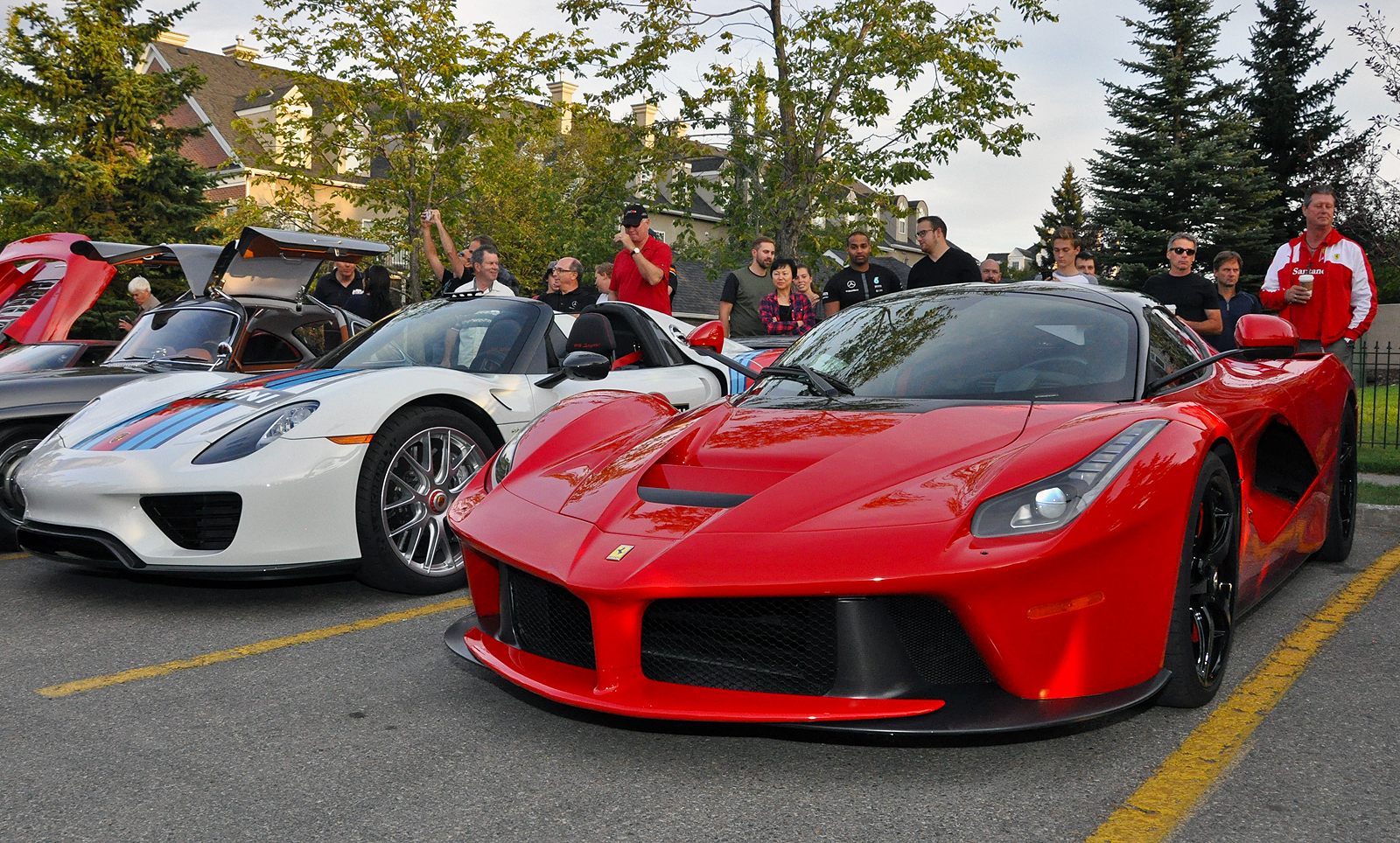 Laferrari 918 Spyder Weissach And More At Calgary Euro