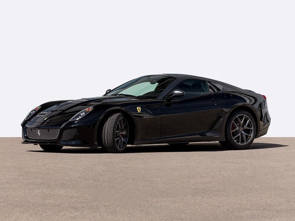 ferrari 599 gto auction - Matte Black Ferrari 599