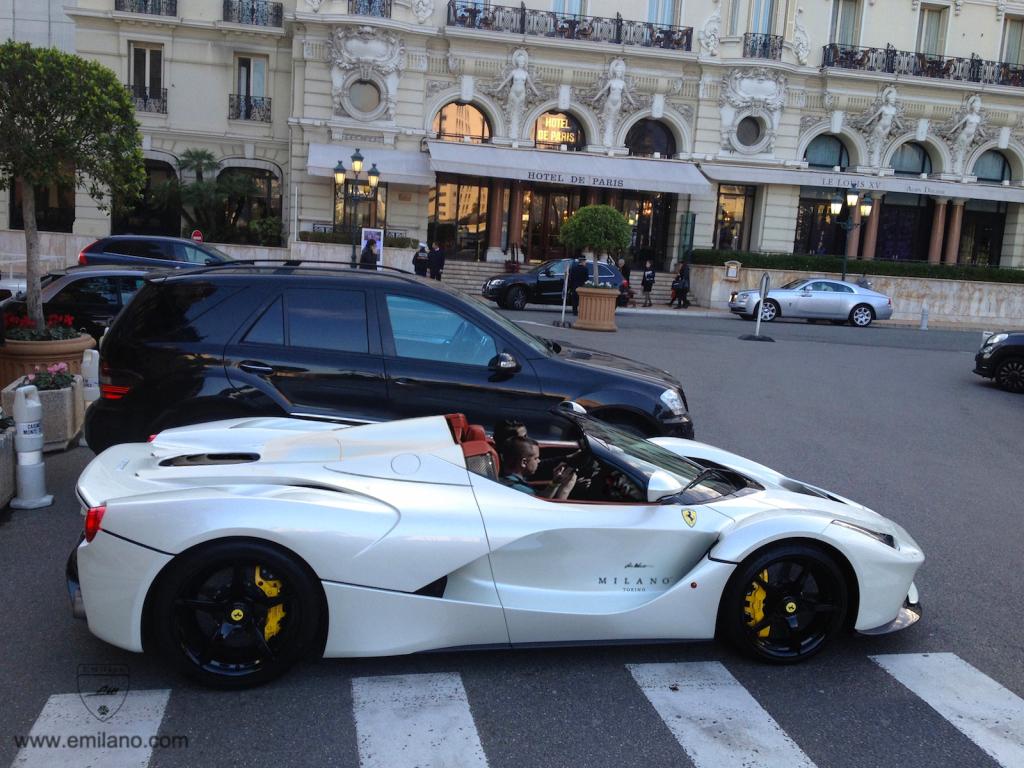 Ferrari LaFerrari Spider Imagined on the Streets - GTspirit