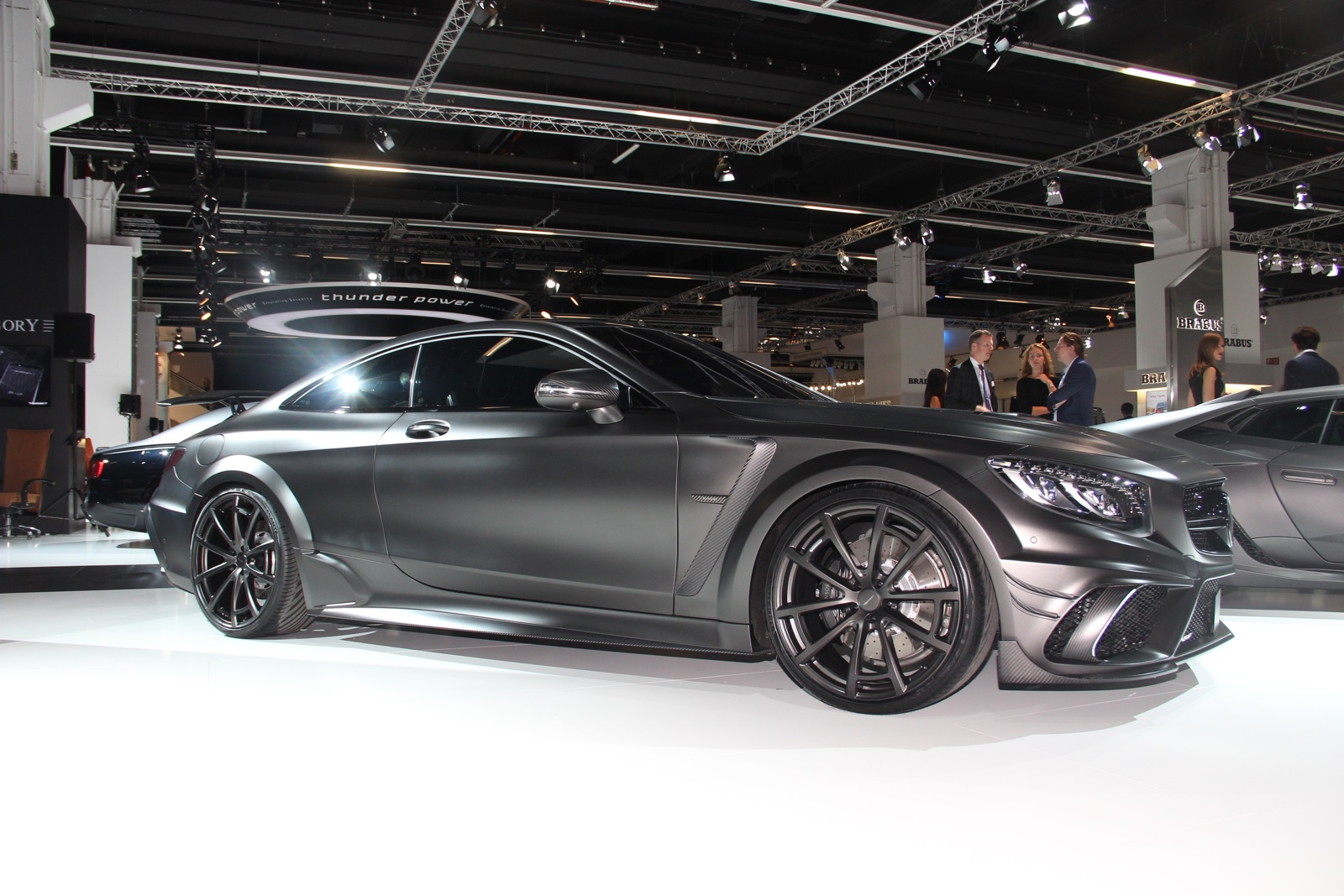 Frankfurt 2015 mansory mercedes benz s63 amg coupe black for Mercedes benz black edition