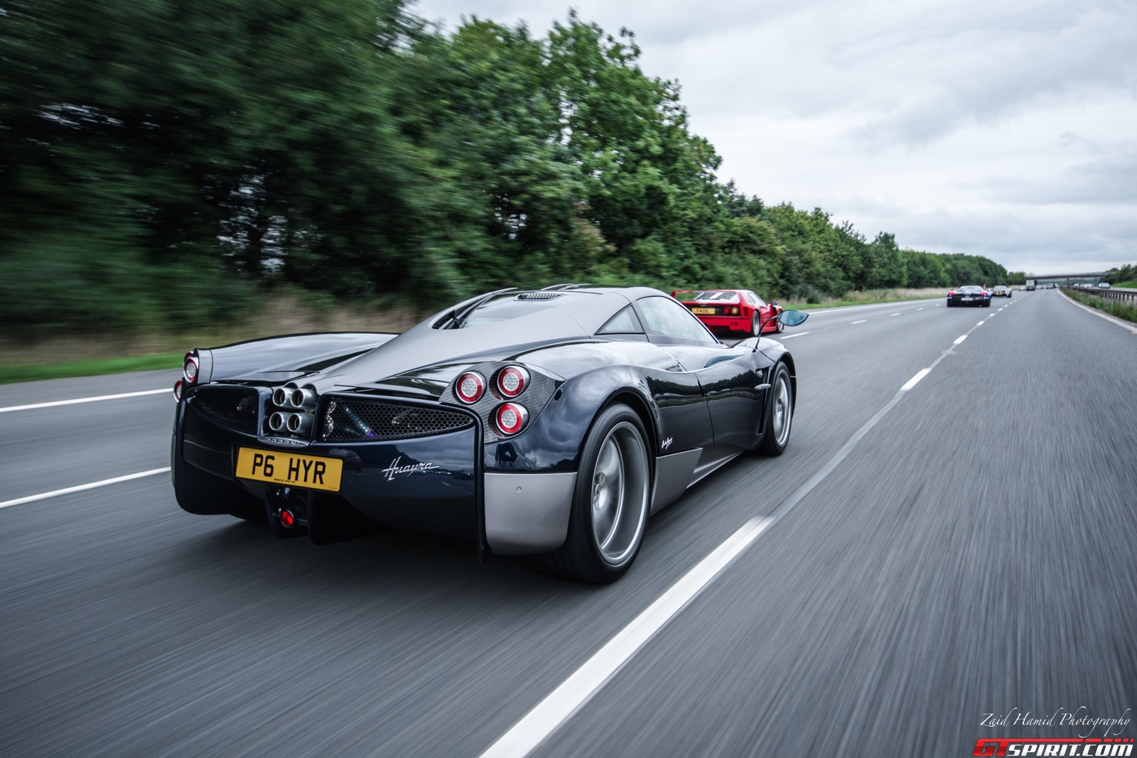 Pagani UK Launches In Style With Raduno Convoy - GTspirit