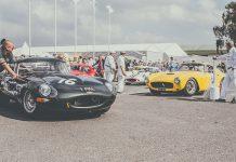 Goodwood Revival Race Cars