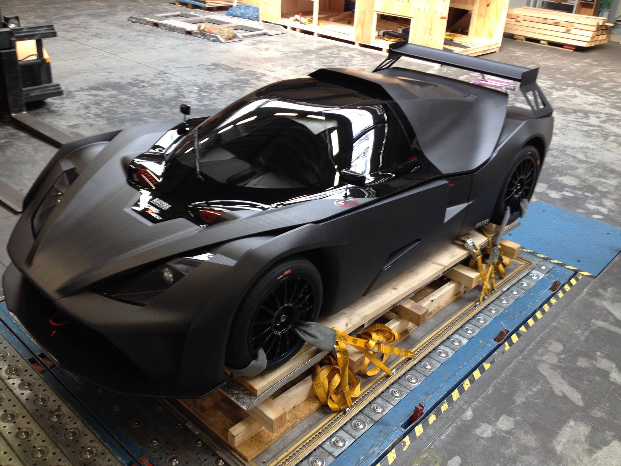 First KTM X-Bow GT4 Arrives in the US - GTspirit