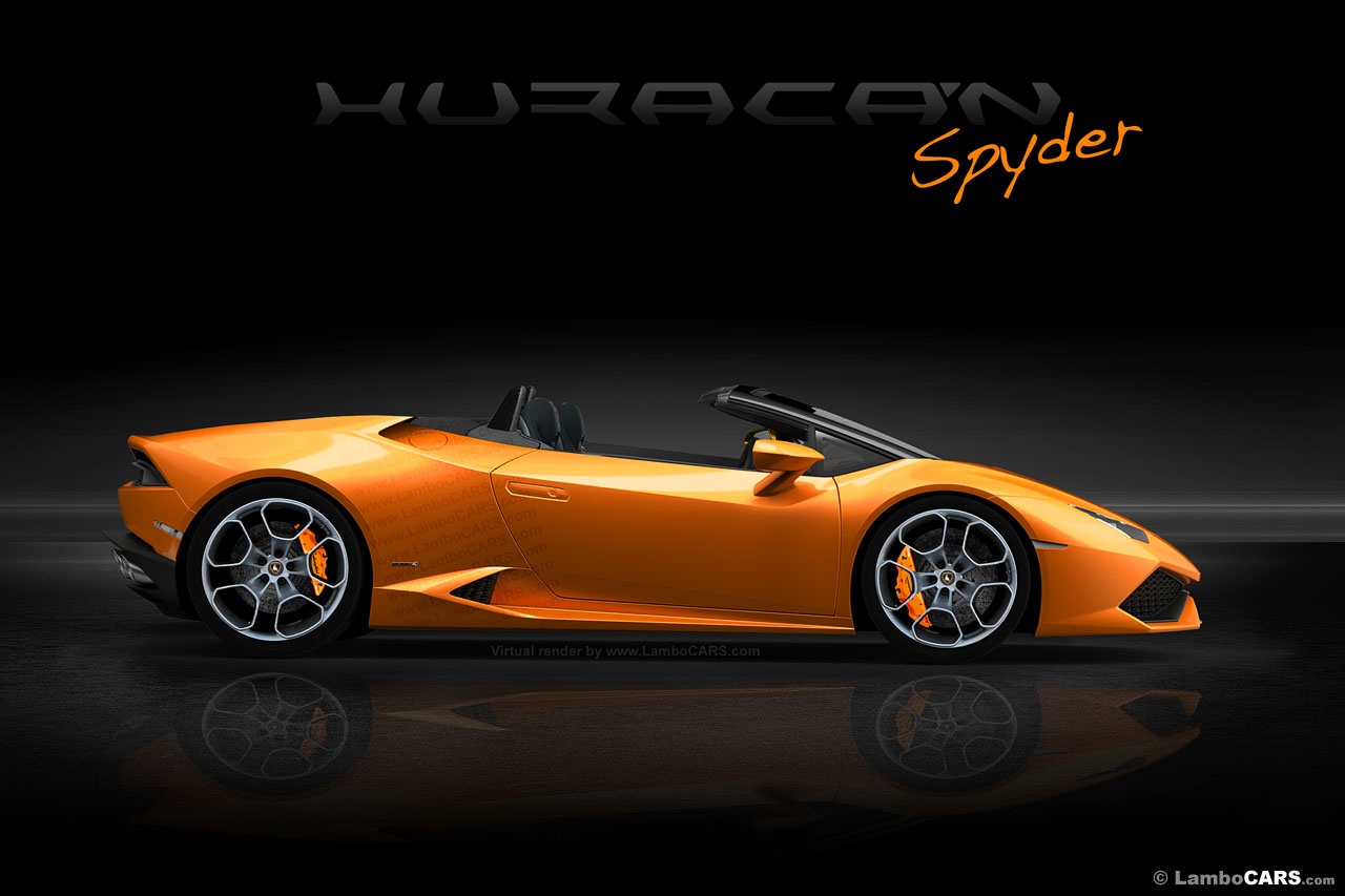 lamborghini huracan spyder to debut at frankfurt motor show 2015 gtspirit. Black Bedroom Furniture Sets. Home Design Ideas