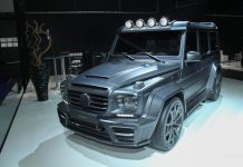 Mansory G63 AMG front