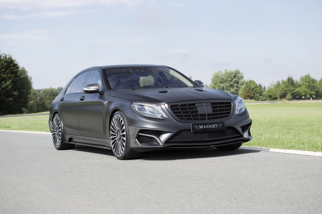Official Mansory Mercedes Benz S63 Amg Black Edition