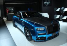 Mansory Rolls-Royce Wraith front