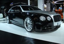 Mansory Flying Spur front