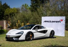 McLaren 570S south africa