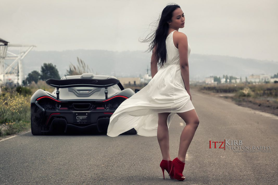 Cars And Girls Hottest Mclaren P1 Vs Girl Photoshoot Yet