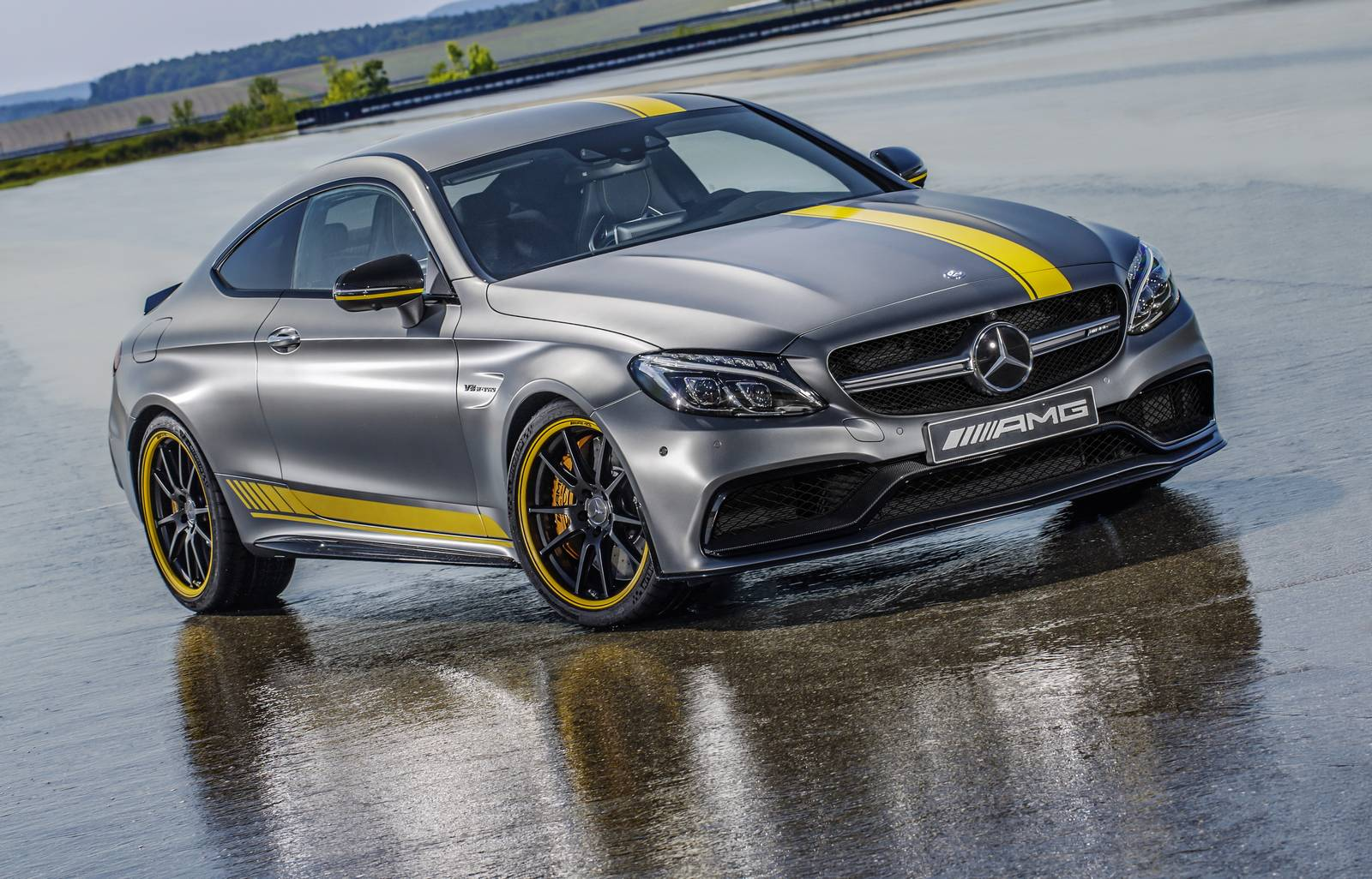 official 2016 mercedes amg c63 coupe edition 1 gtspirit. Black Bedroom Furniture Sets. Home Design Ideas
