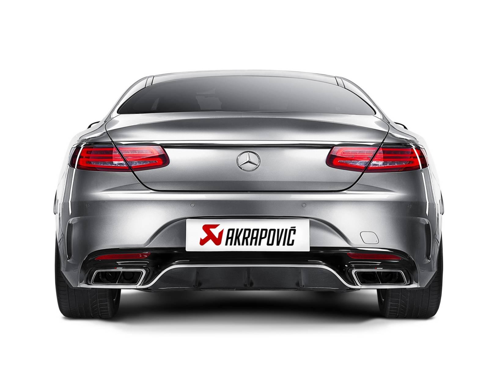 Akrapovic Launches Mercedes Benz S63 Amg Coupe Titanium