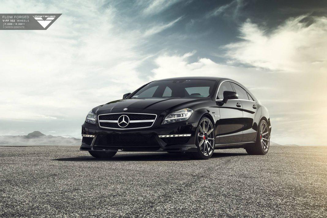 Mercedes benz cls63 amg stuns on vorsteiner wheels gtspirit for Mercedes benz cls63