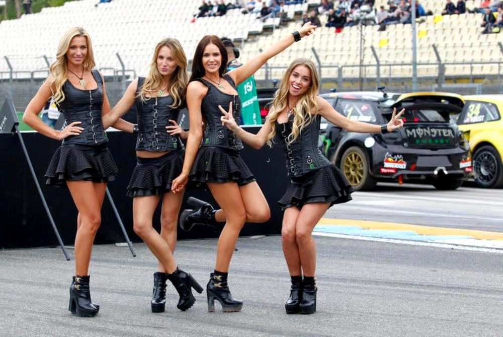 Cars And Girls Sensational Monster Energy Girls Of Rallycross