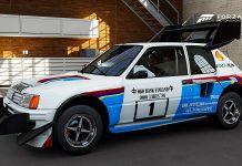 Peugeot 205 T16 forza pikes peak