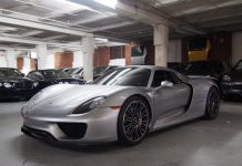 Porsche 918 for sale in New York City