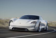 Porsche Mission-E front