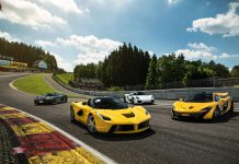 LaFerrari, McLaren P1, Porsche 918 Spyder and Koenigsegg Agera