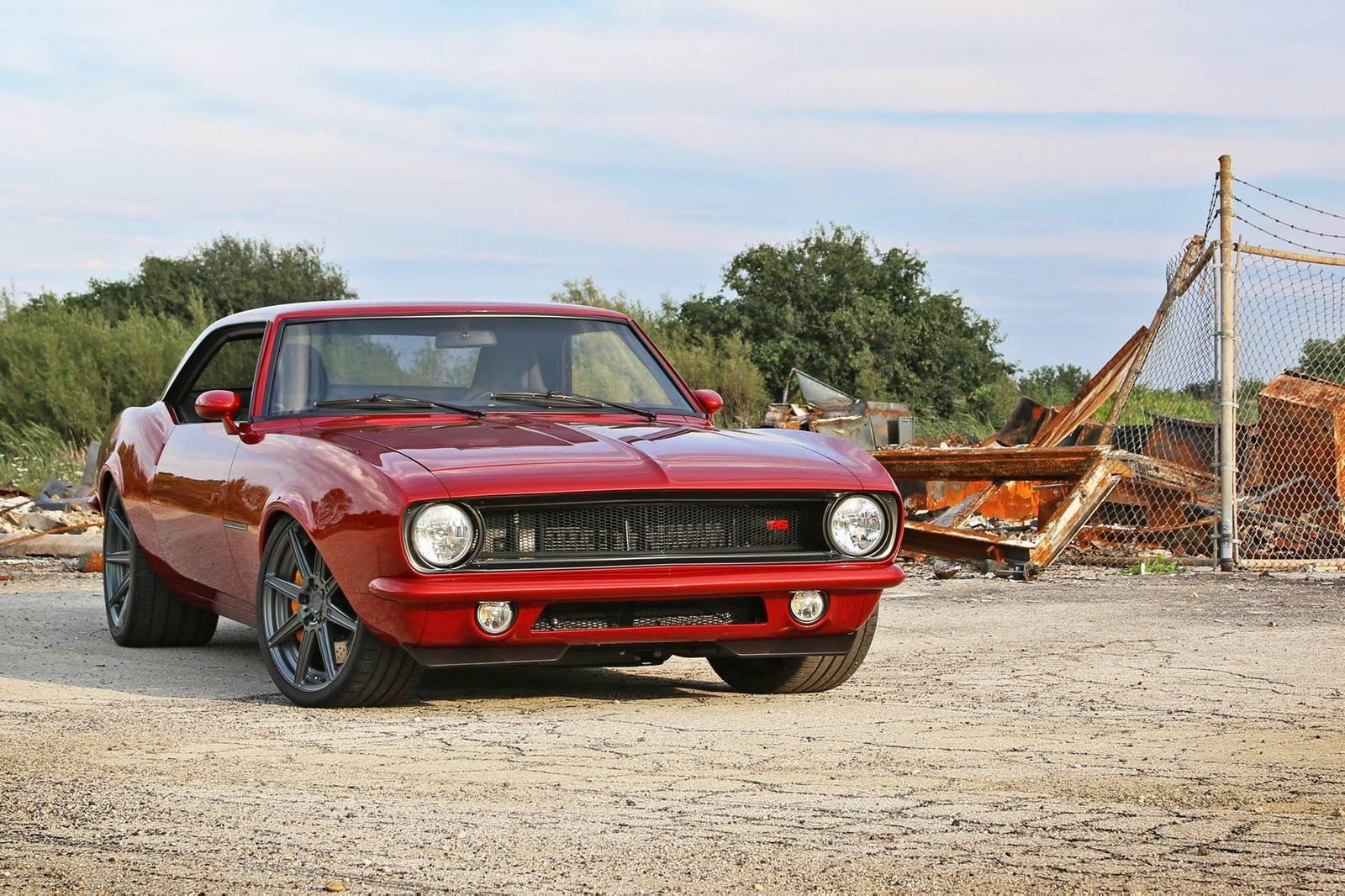 650hp \'Fused\' Camaro Restored by Roadster Shop - GTspirit