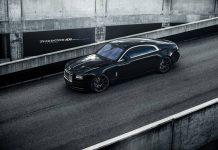 Drake's Rolls-Royce Wraith
