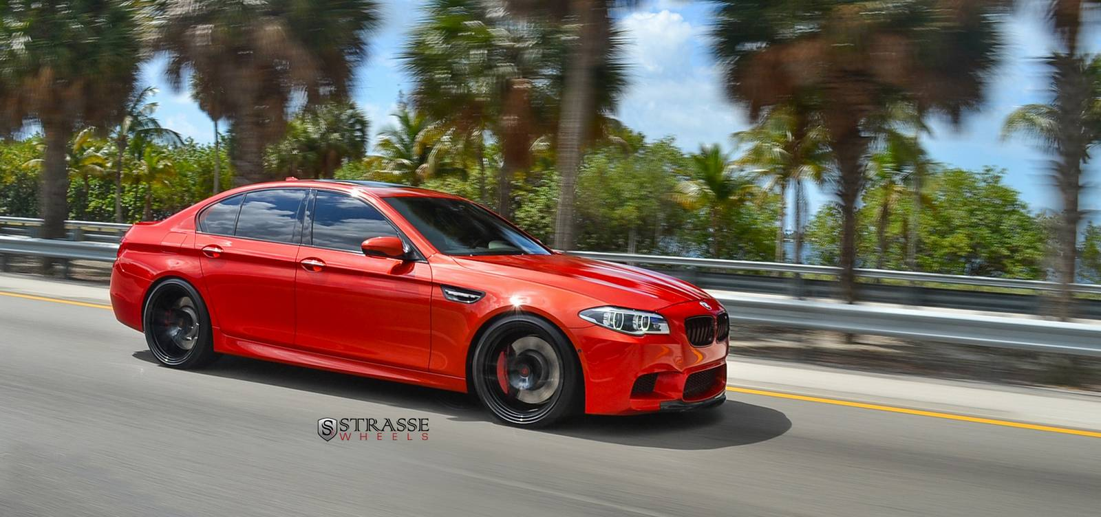710hp Ind Bmw M5 With Gloss Black Strasse Wheels Gtspirit