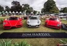 Salon Prive Ferrari and Porsche