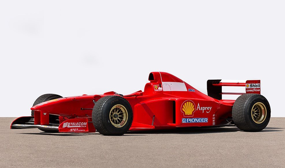 Once Driven Reviews >> Schumacher's 1997 Ferrari F1 Car Being Auctioned in Germany - GTspirit
