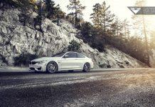 Vorsteiner BMW M4 side view