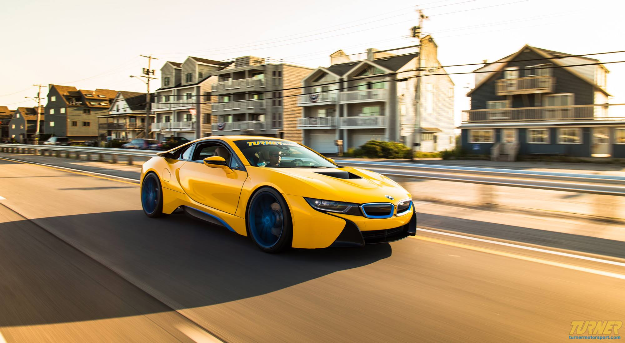 Custom Yellow BMW i8 by Turner Motorsport For Sale - GTspirit