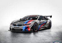 BMW i8 GT3 rendered
