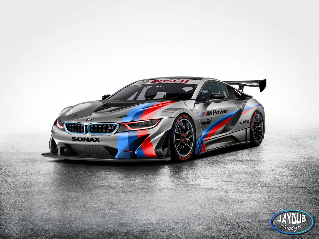 Bmw I8 Looks Ferocious As Gt3 Racer Gtspirit